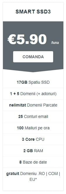 Gazduire Smart SSD