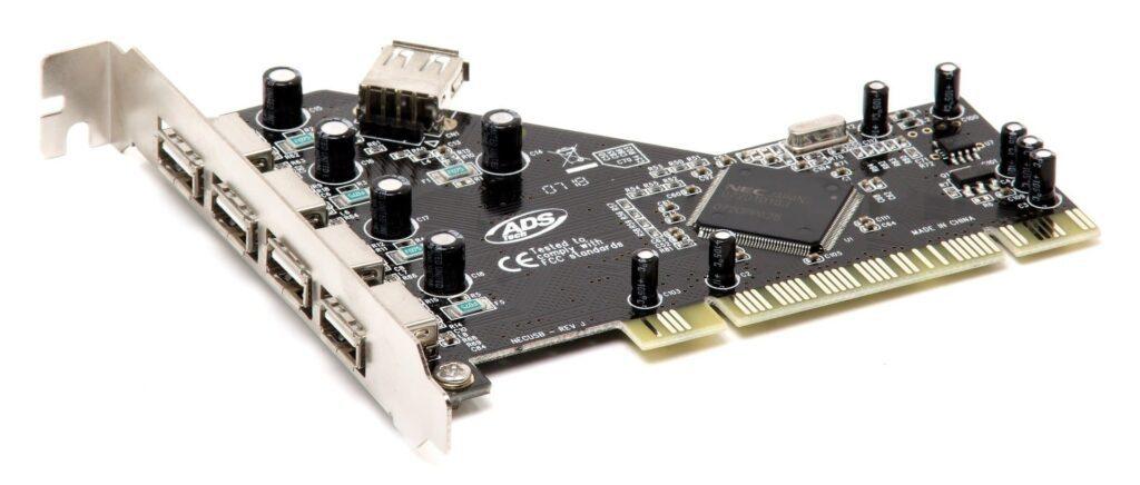 placa de extensie porturi USB pentru PC