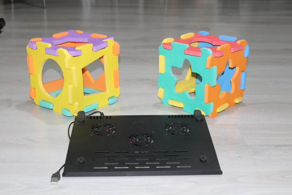 suport de racire pentru laptop cu ventilatoare