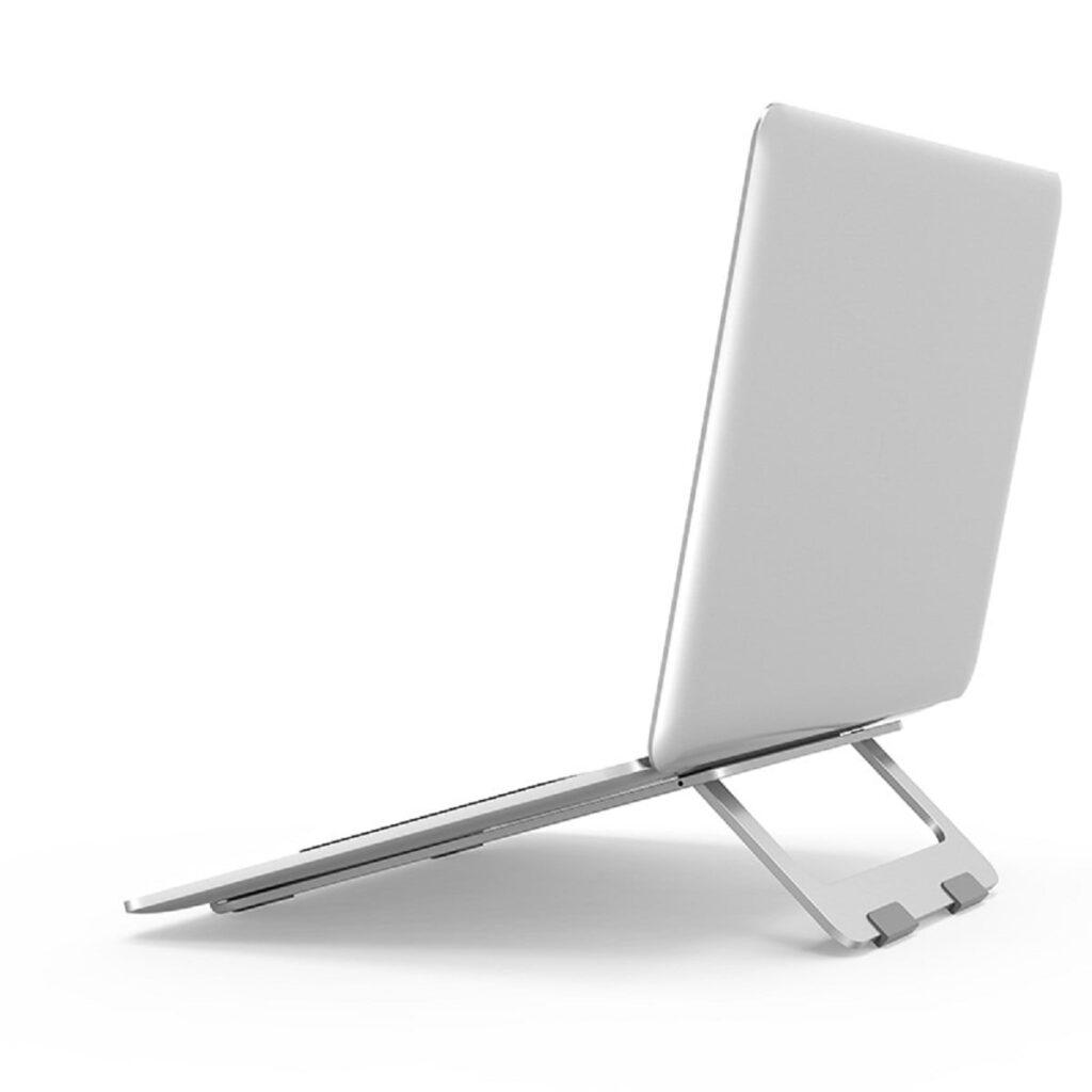 suport de racire pentru laptop din aluminiu fara ventilatoare