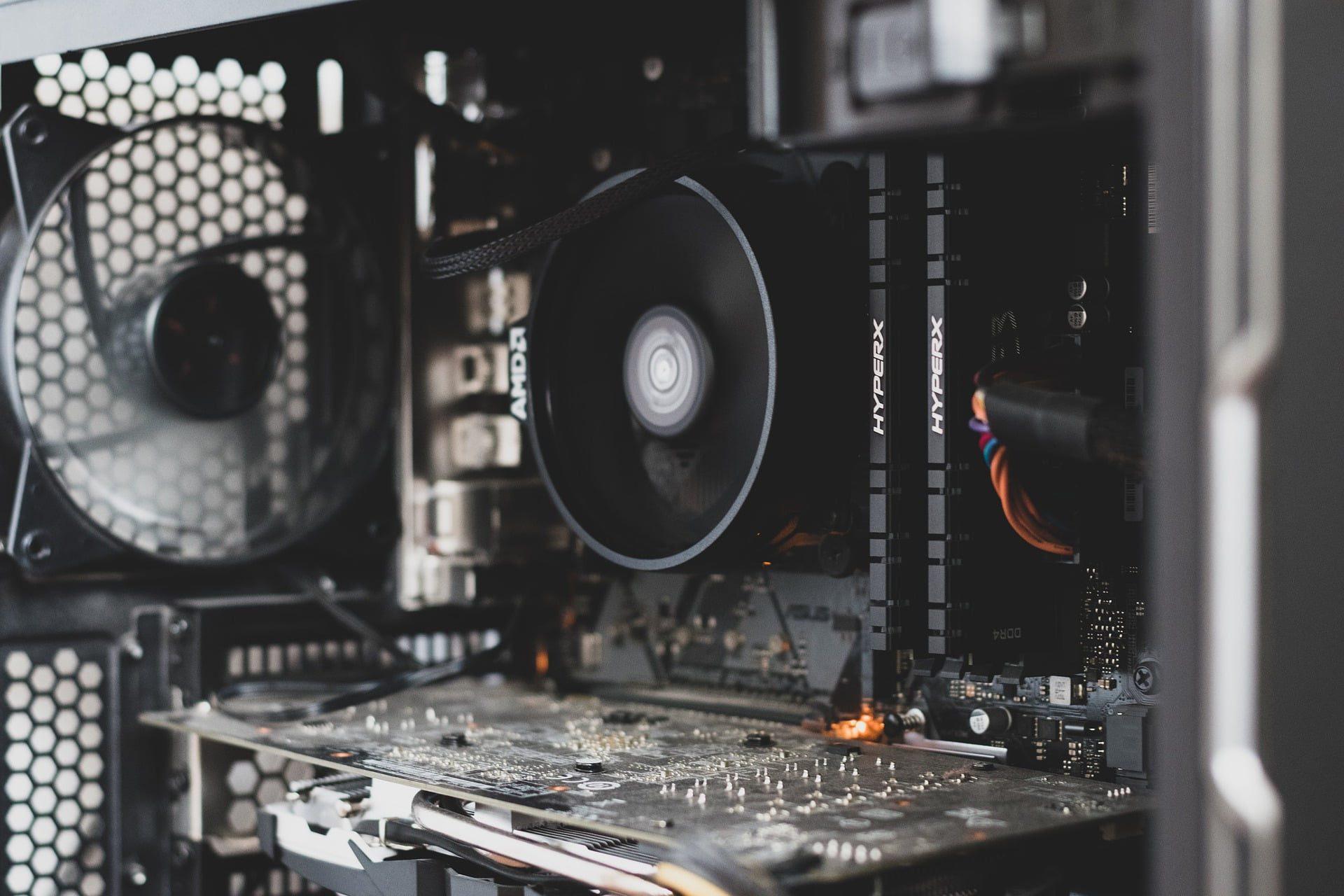 Ventilatoarele unui desktop PC