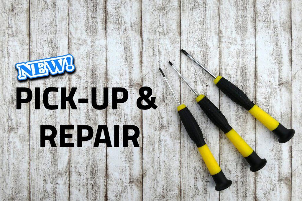 pick-up & repair PC Laptop